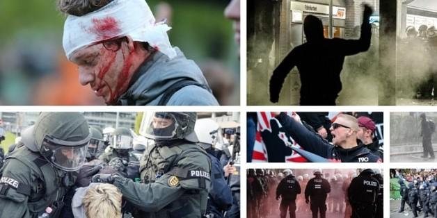 Massive Gewaltausbrüche bei Demonstrationen am 1. Mai