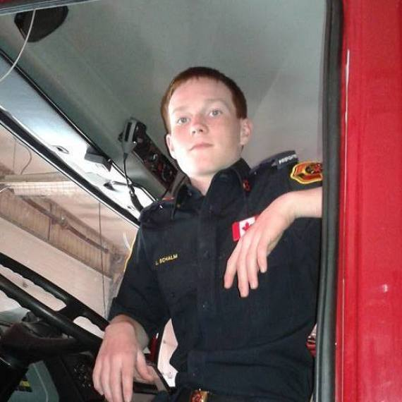 lawson michael schalm alberta firefighter