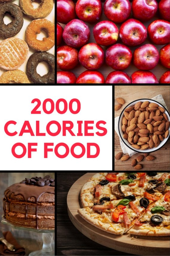 What 2000 Calories Of One Food Looks Like HuffPost Australia