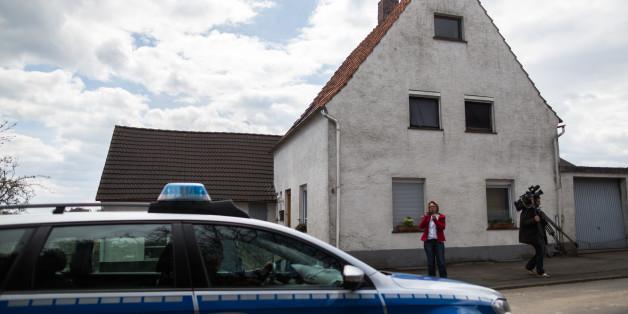 Das Haus in Hoexter, in dem die Frau vor ihrem Tod einen Monat gefangen gehalten wurde
