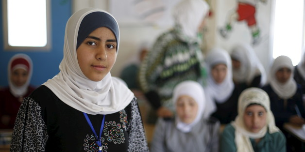 Syrische Flüchtlinge in einem Camp in der jordanischen Stadt Mafraq