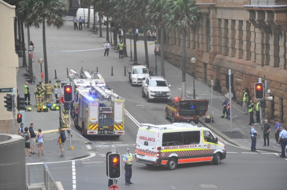 police investigation bridge street
