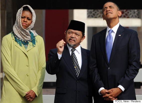 michelle obama indonesia