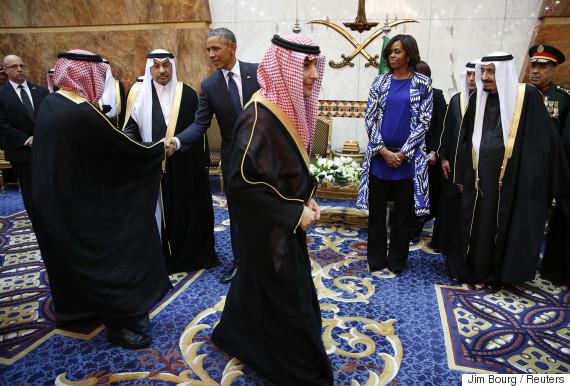 michelle obama saudi