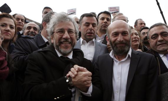 periodistas turcos