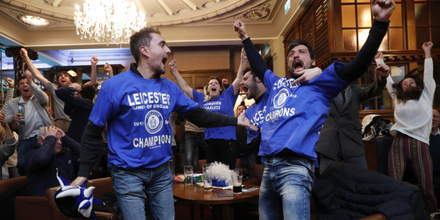 Leicester, champion surprise du championnat d'Angleterre de foot