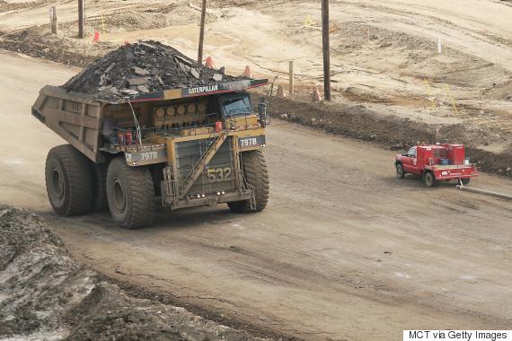 oilsands truck
