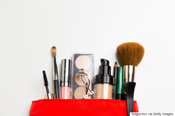 mascara makeup bag