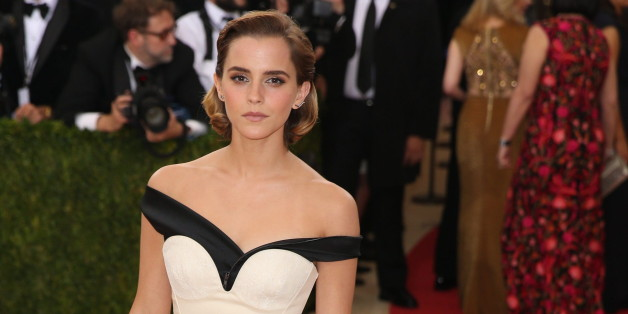 Emma Watson trägt ein Kleid aus Plastikflaschen
