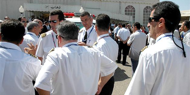 Des pilotes d'Air Algérie (Photo archives)