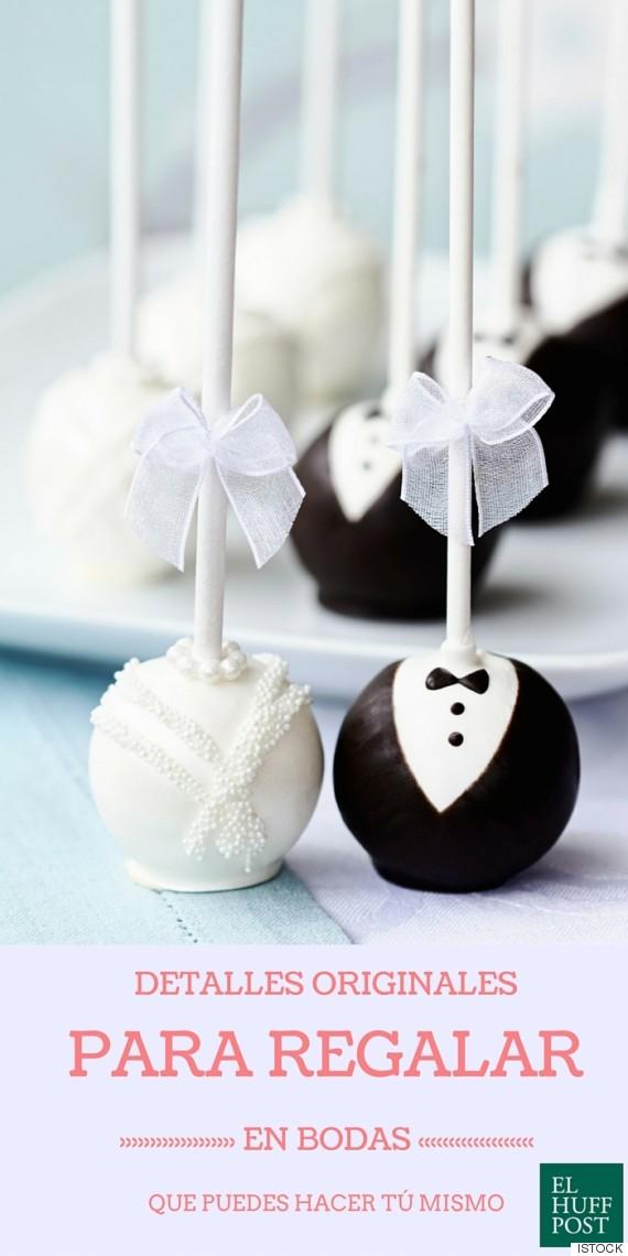 Detalles originales para regalar en bodas que puedes hacer - Los detalles de tu boda ...