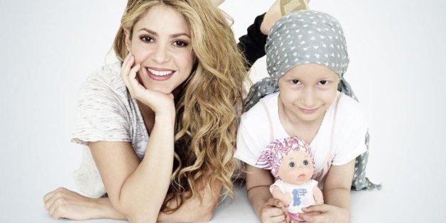 Shakira veut aider les enfants atteints du cancer au Maroc