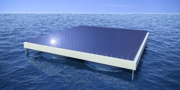 Diese Technik sorgt für grünen Strom - und könnte ein Leben auf hoher See ermöglichen