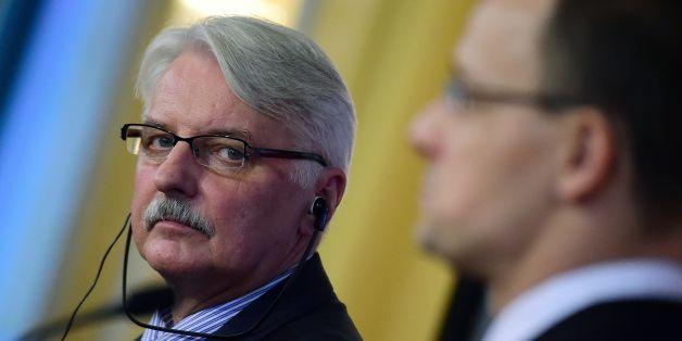 """Der polnische Außenminister bezeichnet EU-Pläne zur Umverteilung von Flüchtlingen als """"Aprilscherz"""""""
