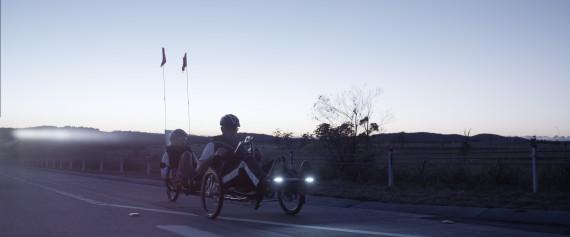 legacy riding at dawn