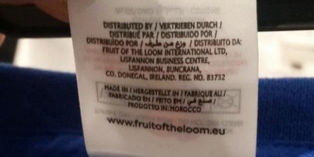Mais qui fabrique les tee-shirts du Front National au Maroc?