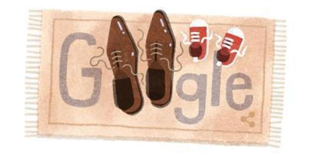 Google feierte den Vatertag mit einem Doodle