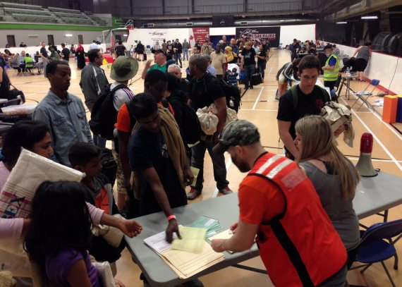anzac evacuation centre fort mcmurray fire