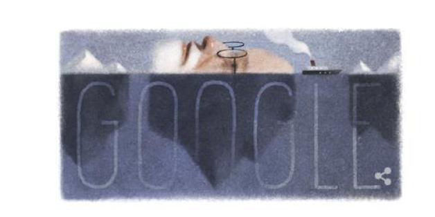 Das Google Doodle mit Sigmund Freud: Am 6. Mai wäre er 160 Jahre alt geworden