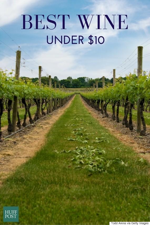 best wine under 10