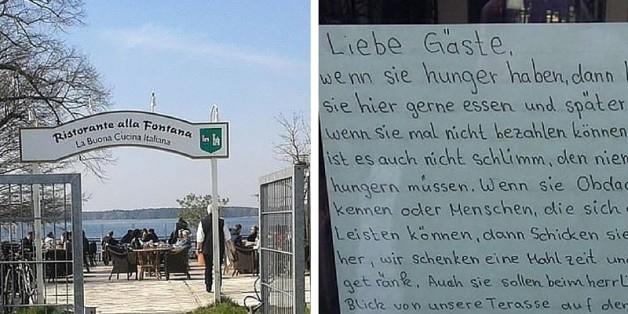 In diesem Berliner Restaurant bekommen Bedürftige ihr Essen umsonst