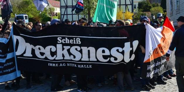 Demonstration von Linken im Wohnort von AfD-Mann Björn Höcke