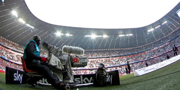 Die 1. Bundesliga wird im Fernsehen und im Live-Stream übertragen