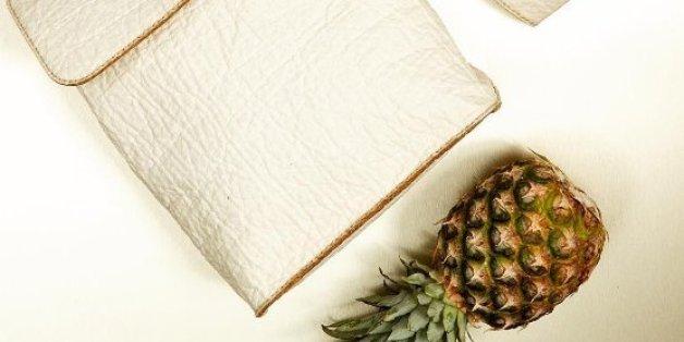 Le cuir d'ananas sera-t-il le péché mignon de la mode?