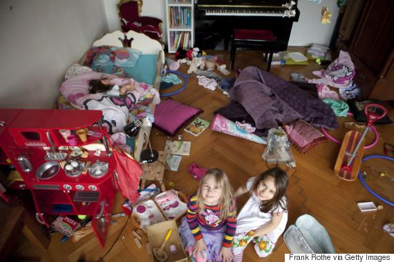 child mess