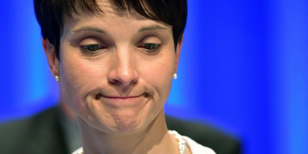 Frauke Petry soll mit dem Verfassungsschutz über eine Beobachtung der AfD gesprochen haben