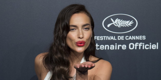 Model Irina Shayk poses during a photocall ahead of the Chopard Gold Party during the 68th Cannes Film Festival in Cannes, southern France, May 18, 2015. Picture taken May 18, 2015. REUTERS/Yves Herman