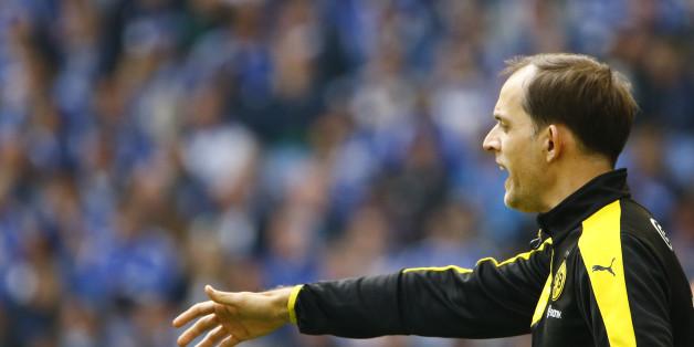 Borussia Dortmunds Coach Thomas Tuchel erwartet ein emotionales Spiel gegen Frankfurt