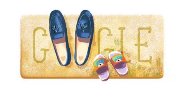 Das Google Doodle zum Muttertag