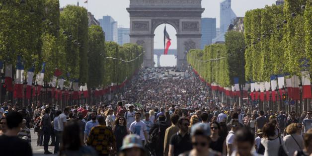 Paris blieb heute mal autofrei