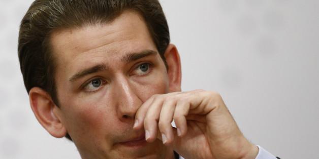 Terror-Alarm bei Österreichs Außenminister Kurz: Unbekannter deponiert Koffer vor Politiker-Wohnung
