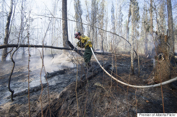 fort mcmurray firefighter
