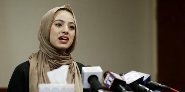 Eine Bildunterschrift unter dem Foto der Muslima Bayan Zehlif in einem Schul-Jahrbuch löste einen Skandal aus