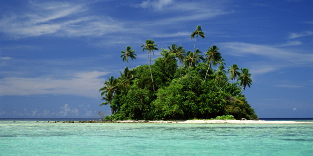 ISLET IN ROVIANA LAGOON, NEW GEORGIA, SOLOMON ISLANDS