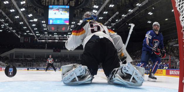 In der Eishockey-WM ist die deutsche Mannschaft am Boden - nach zwei Niederlagen, auch gegen Frankreich (Archiv)