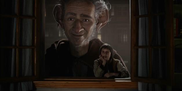 """Image tirée du film """"Le bon gros géant"""" de Steven Spielberg"""