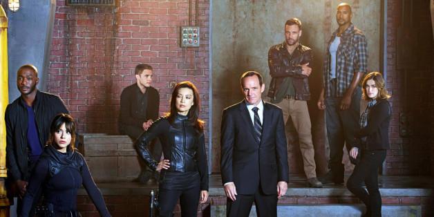 Agent Phil Coulson (Clark Gregg, Mitte) und sein Team