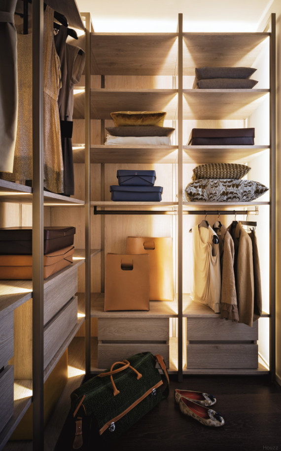 Houzz vi spiega come realizzare la cabina armadio perfetta for Misure cabina armadio