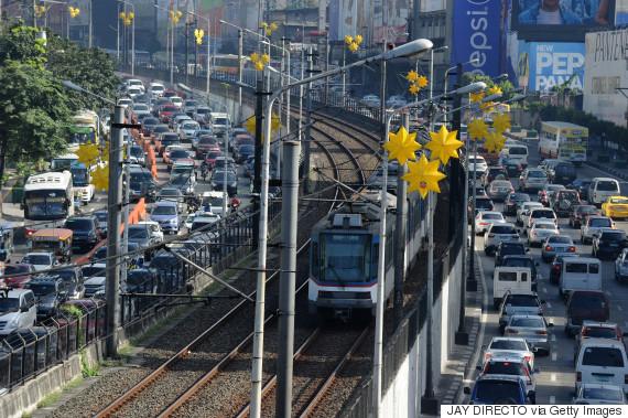 traffic manila