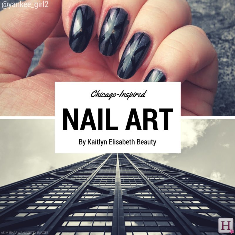 Nail Art A Design Inspired By The Architecture Of Chicago