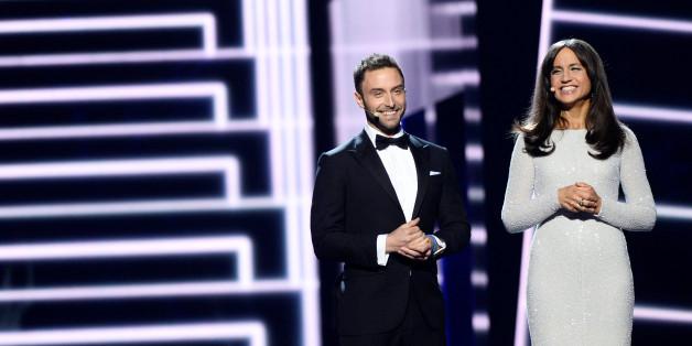 Durch den Eurovisions führen Mans Zelmerlow und Petra Mede