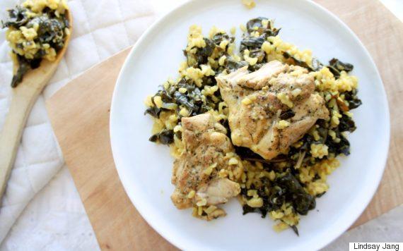 lemon rice chicken