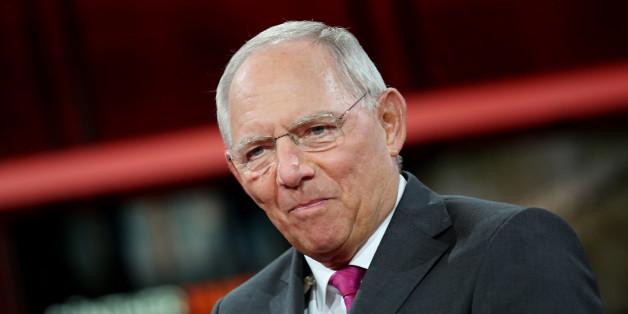 Bundesfinanzminister Wolfgang Schäuble warnt vor einem getrennten Wahlkampf