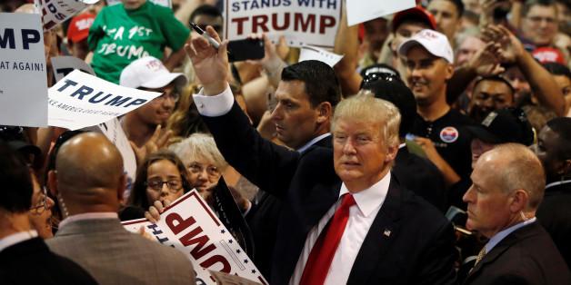 Der Präsidentschaftskandidat Donald Trump sammelt weiter Delegiertenstimmen