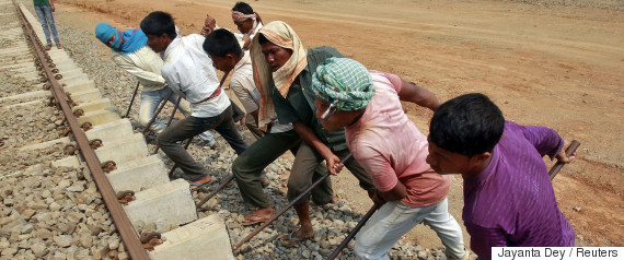 india railway construction