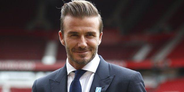 David Beckham braucht im Badezimmer nur sieben Minuten